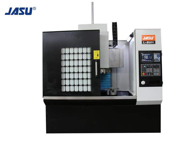 JASU L-850V 2 tengelyes lineáris útmutató CNC függőleges esztergagép