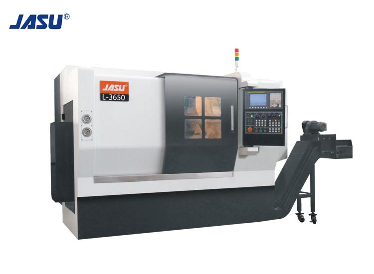JASU L-3650 2-tengelyes lineáris útmutató vízszintes CNC esztergagép